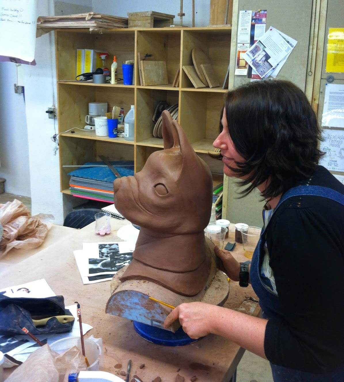 Thaddeus Erdahl Ceramic Sculpture Workshop